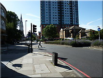 TQ3179 : Welcome to Lambeth by Basher Eyre