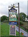 NY0720 : Pub Sign - Lamplugh Tip Inn by Marshall Renwick