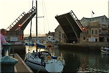 SY6778 : Weymouth: Town Bridge by Mr Eugene Birchall