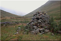 NT1513 : Carrifran Glen from the cairn by Jim Barton