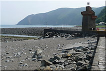 SS7249 : Across Lynmouth Bay by Graham Horn