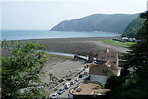 SS7249 : Lynmouth Bay by Graham Horn