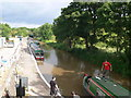 SJ5759 : The Shropshire Union Canal at Bunbury Locks by Eirian Evans