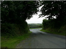 SM9235 : Road junction near Panteg by Martyn Harries
