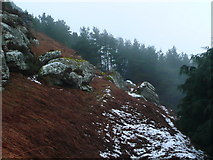 NU0634 : Rock outcrops on Cockenheugh by Anne Patterson
