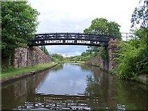 SJ8196 : Throstle Nest Bridge, Bridgewater Canal by David Martin