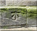 NZ2563 : Benchmark on St Mary's Church by Roger Templeman
