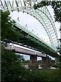 SJ5183 : Runcorn Bridges by David Martin