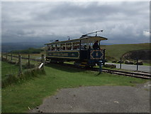 SH7683 : Great Orme Tramway by Richard Hoare
