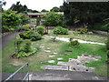 SZ6598 : Japanese Garden towards Rose Garden, Southsea by Chris Wimbush