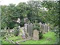 SE1308 : Lane United Reformed Church Graveyard - Upperthong Lane by Betty Longbottom