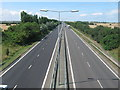 TR2467 : A299 Thanet Way Dual Carriageway heading to Herne Bay by David Anstiss