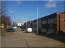 TQ4667 : Industrial Estate, Cray Avenue, Orpington by Stacey Harris