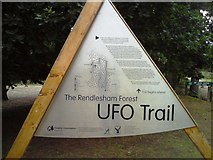 TM3448 : UFO Trail Sign by Tim Marchant