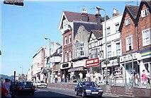 TQ1649 : High Street, Dorking by Peter Shimmon