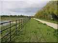 TL4157 : Permissive bridleway by Hugh Venables