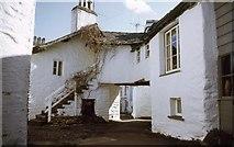 SD3598 : Vicarage Lane, Hawkshead, English Lake District by Derek Voller