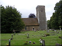 TM4261 : St.Lawrence Church, Knodishall by Adrian Cable