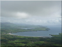 V3999 : Ventry Harbour from Mount Eagle by Anne Patterson
