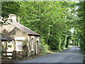 NY8362 : Former toll house on the A686 at Langley Castle by Mike Quinn