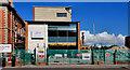 J2664 : Demolition of Lisburn Tech (2) by Albert Bridge