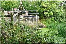 TQ0524 : Lordings water wheel by Graham Horn