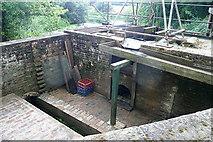 TQ0524 : Lordings waterwheel by Graham Horn