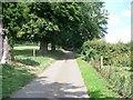 SP1640 : Farm driveway by Michael Dibb