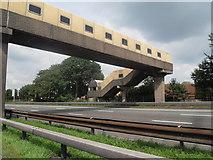 SJ7760 : Sandbach Services M6 Motorway by Anthony Parkes