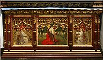 TQ2879 : St Paul, Wilton Place, London SW1 - Altar by John Salmon