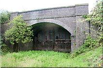 SK7528 : Old railway bridge by Kate Jewell