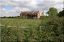 SK7528 : Railway workers' cottages by Kate Jewell