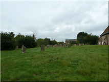 TM4160 : St Mary Magdalene , Friston: gravestones by Basher Eyre