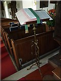 TM4160 : St Mary Magdalene, Friston: lectern by Basher Eyre