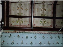 TM4160 : St Mary Magdalene, Friston: ceiling by Basher Eyre
