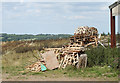 ST6362 : 2010 : Pile of pallets, near Chelwood by Maurice Pullin