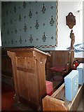TM4160 : St Mary Magdalene, Friston: prayer desk by Basher Eyre