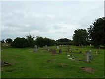 TM4160 : St Mary Magdalene, Friston: a verdant churchyard by Basher Eyre