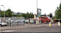 J3475 : Apartments site, Belfast (1) by Albert Bridge