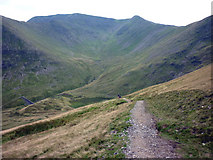 NY3416 : Descending the bridleway towards Keppel Cove by Karl and Ali