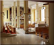 TQ2879 : St Peter, Eaton Square, London SW1 - Interior by John Salmon