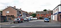 J3475 : Midland Terrace, Belfast by Albert Bridge