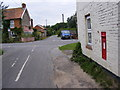 TM4267 : Back Road & Post Office Middleton Postbox by Adrian Cable