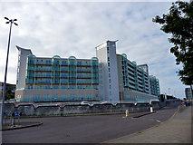 SY6874 : Apartments, Portland, Dorset by Christine Matthews