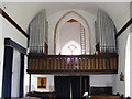 TM4267 : Organ & Balcony Middleton Church by Adrian Cable