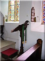 TM4367 : Lectern, Holy Trinity Church, Middleton by Adrian Cable
