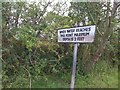 NY3059 : Road sign by Darrin Antrobus