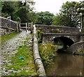 SJ9688 : Church Lane Canal Bridge by Gerald England