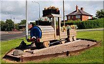 J4792 : Floral train, Whitehead by Albert Bridge