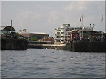 ST1974 : Former Mountstuart Dry Docks, Cardiff Bay by Gareth James